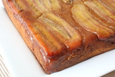 Banana Upside-down Cake | Cake | Pinterest