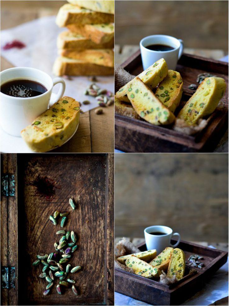 Saffron & Pistachio Biscotti 2 | beautiful cakes and cookies | Pinter ...