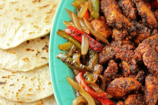 ... fan of fish tacos but these look divine! blackened catfish fajitas
