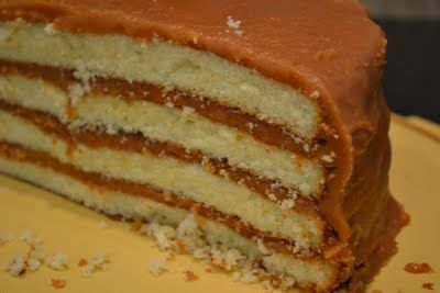 Southern Accents: Mama's Old Fashioned Caramel Cake (Icing)