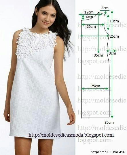 Как быстро сшить платье из ткани 542
