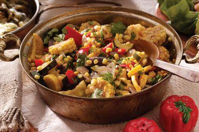 Southwestern-Style Recipes: Calabacitas Summer Squash and Corn Stew