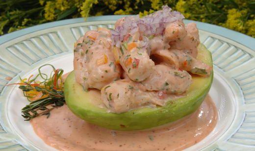 Shrimp and Avocado Remoulade Salad | Salads | Pinterest