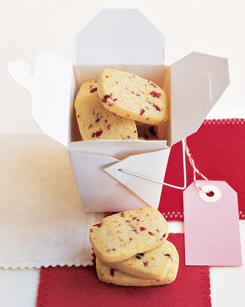 Cornmeal-Cherry Cookies - What a pretty Christmas cookie and such a ...
