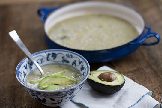 cream of broccoli soup by autoimmune-paleo.com @auotimmunepaleo # ...