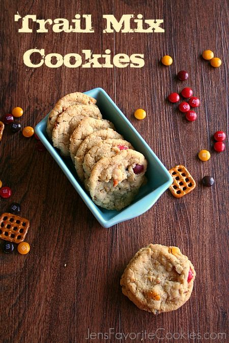 Trail Mix Cookies from Jen's Favorite Cookies