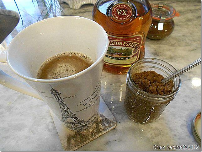 Hot buttered rum batter-no ice cream version. ('Cause ice cream ...