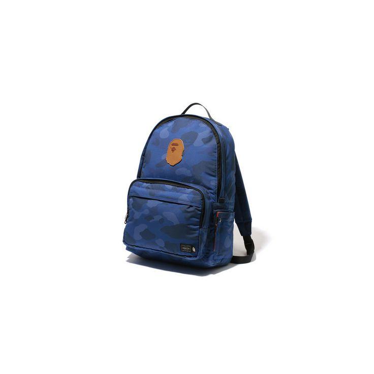 Bape x porter colour camo daypack men bags pinterest for Bape x porter backpack