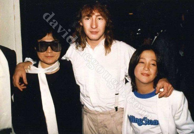 Julian and Sean Lennon   The Beatles   Pinterest