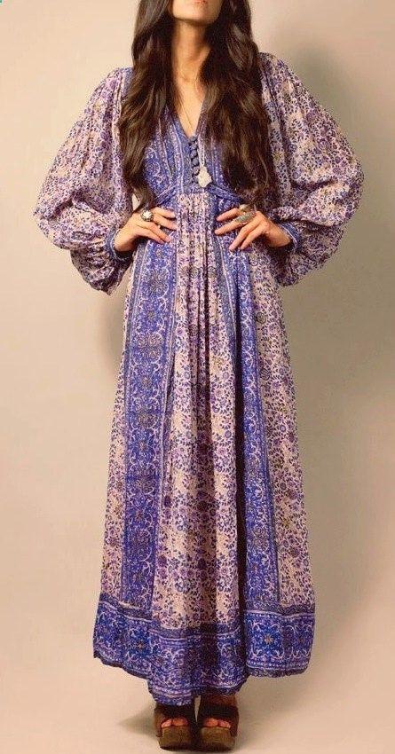 Pity, that vintage peasant dress happens