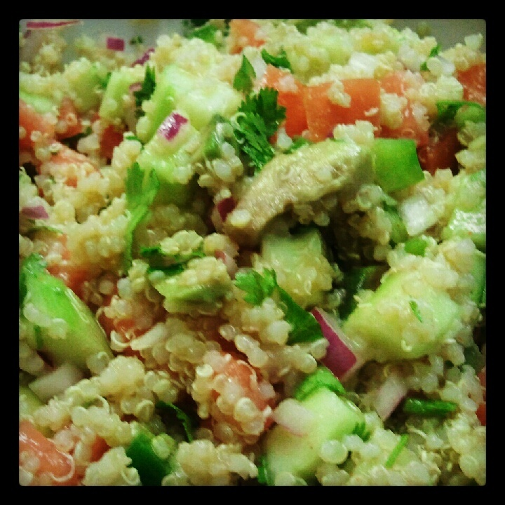 Quinoa And Cucumber Salad Recipes — Dishmaps
