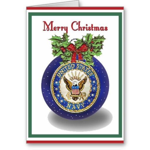 Wish a Merry Christmas to loved ones this holiday season with Military Navy Christmas cards from Zazzle! Festive greeting cards, photo cards & more. Create today!