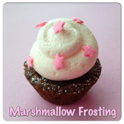 strawberry marshmallow frosting | cakes/cupcake | Pinterest