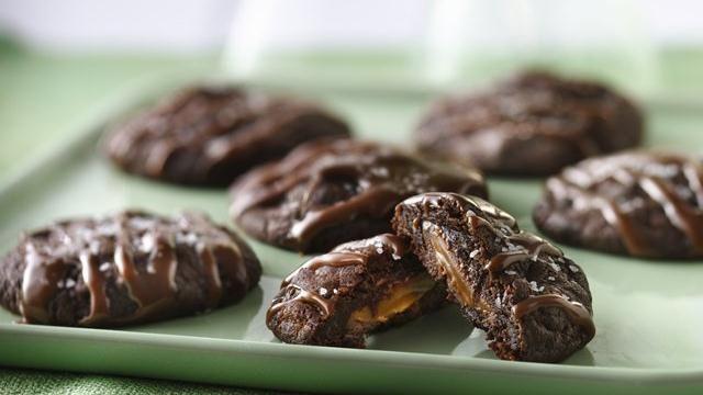 Salted Caramel-Bittersweet Chocolate Truffles Recipes — Dishmaps