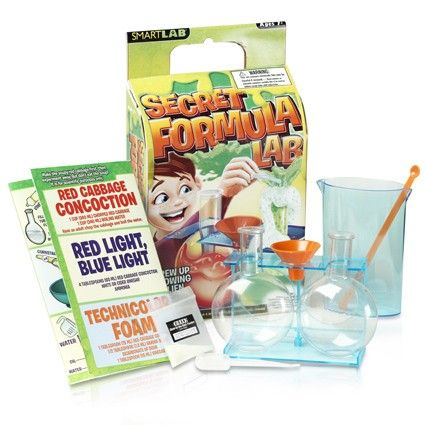 Secret formula lab how to booklet