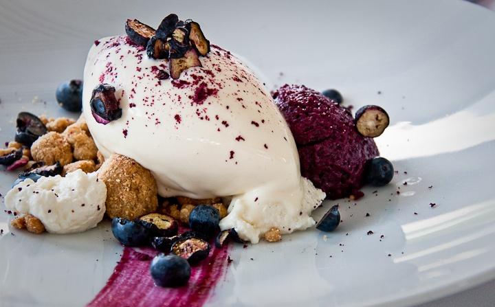 blueberry cheesecake ice cream | Presentaciones | Pinterest
