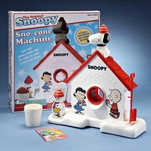 vintage snow cone machine