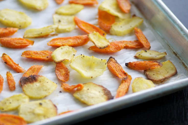 Chips; Smoked Paprika Carrot And Parsnip Chips; Curried Sweet Potato ...