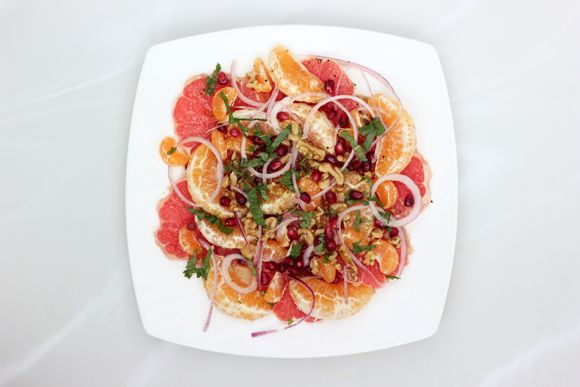 Restricted Diets: Winter Citrus Salad | Free People Blog #freepeople