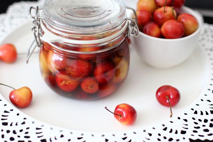 Kentucky Bourbon-Vanilla Soaked Cherries | Gift Ideas | Pinterest