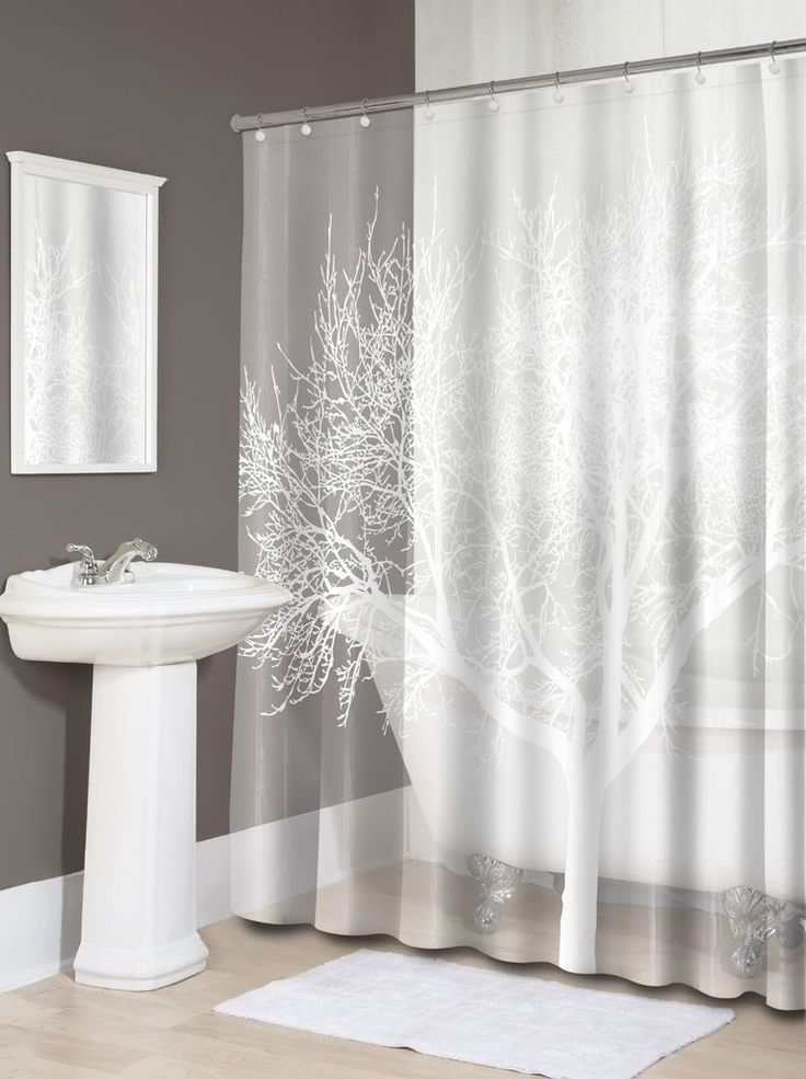 How To Decorate Curtains Sheer Lace Shower Curtain