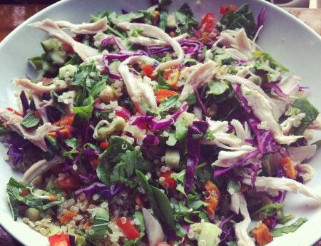 Roasted chicken and quinoa salad | H. Recipes | Pinterest