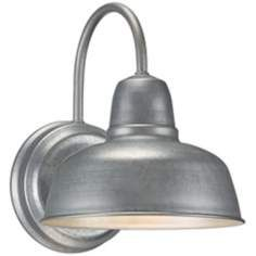 Barn Wall Urban Galvanized Outdoor Wall Sconce