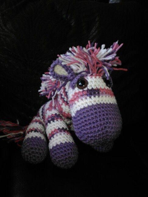 Crochet Zebra : Crochet zebra knitting & crochet Pinterest