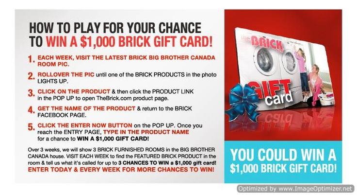 Sweepstakes ~ Win A $1000 #Gift Card ~ CANADA only ( No Que ) http ...