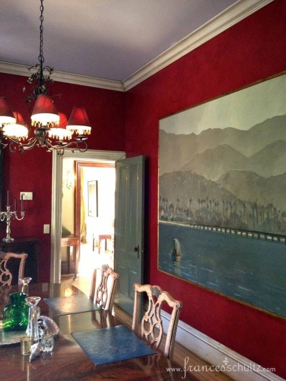 Dining Room Art Cumberland Residence
