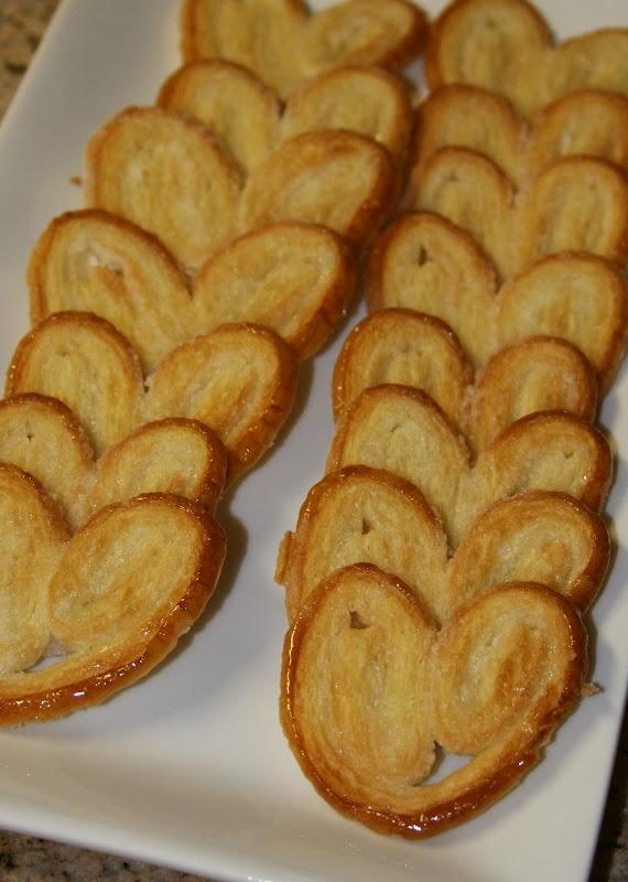 Palmiers Cookies (or with cinnamon) | Cookies | Pinterest