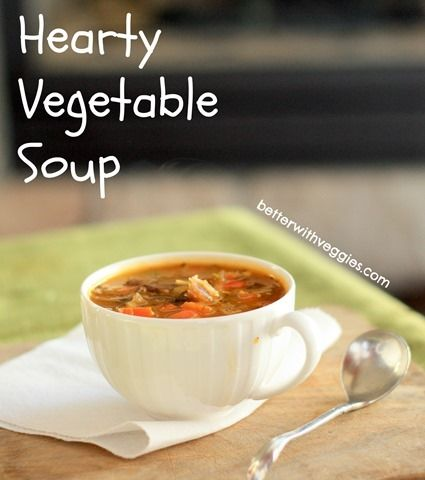 Hearty Winter Vegetable Soup Recipes — Dishmaps