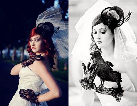 Gothic Halloween Wedding Ideas