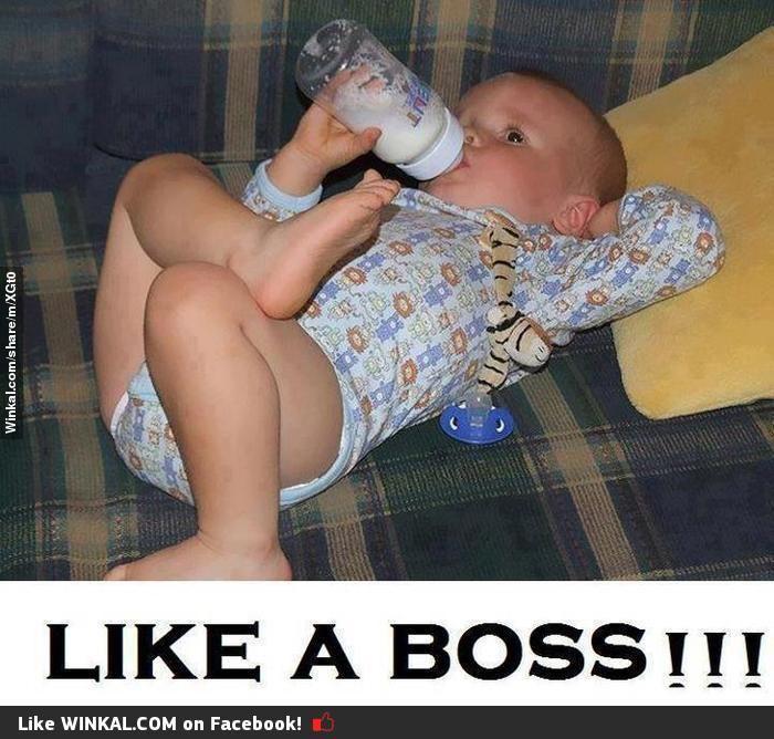 Like A BOSS..