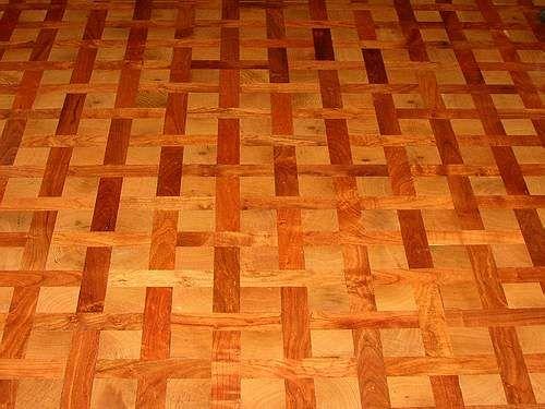 Texas mesquite floors western southwestern furnishings for Mesquite flooring