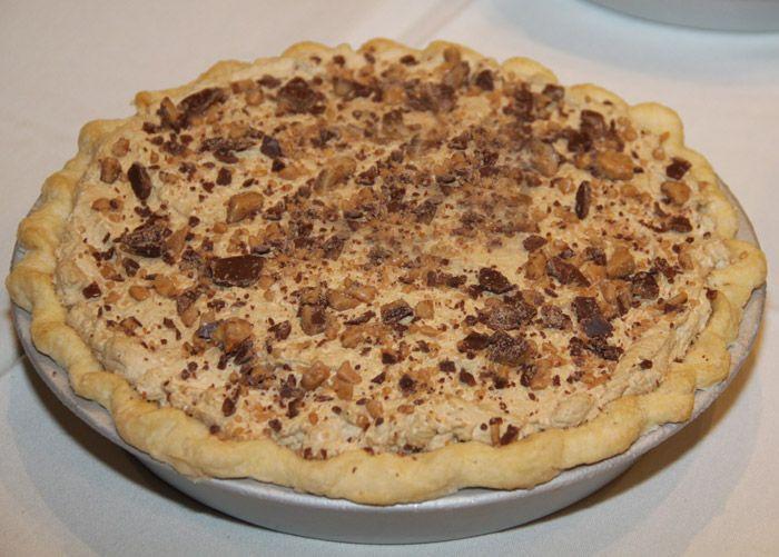 Coffee Toffee Silk Pie. Contest winner. Must make ASAP!