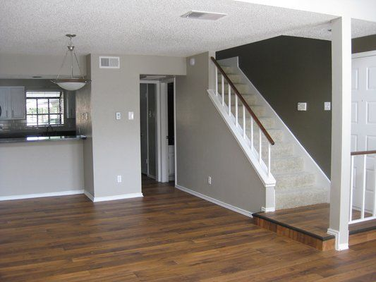 two tone walls interior painting ideas pinterest. Black Bedroom Furniture Sets. Home Design Ideas