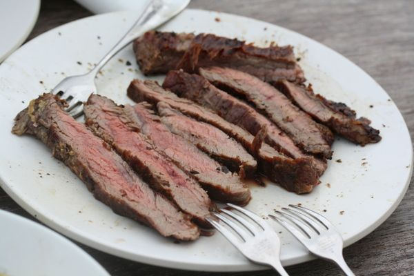 Guinness-Marinated Flank Steak | Hearty | Pinterest