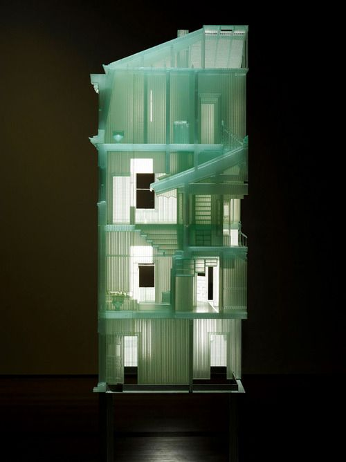 Do-Ho Suh - Home within Home (2011) - Photosensitive resin