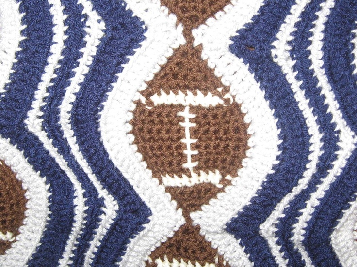 Crochet Pattern For Sports Blanket : Pin by Louanne Sanders on crochet Pinterest