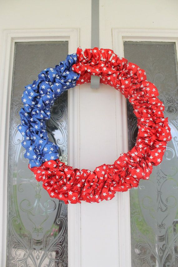 fourth of july ribbon crafts
