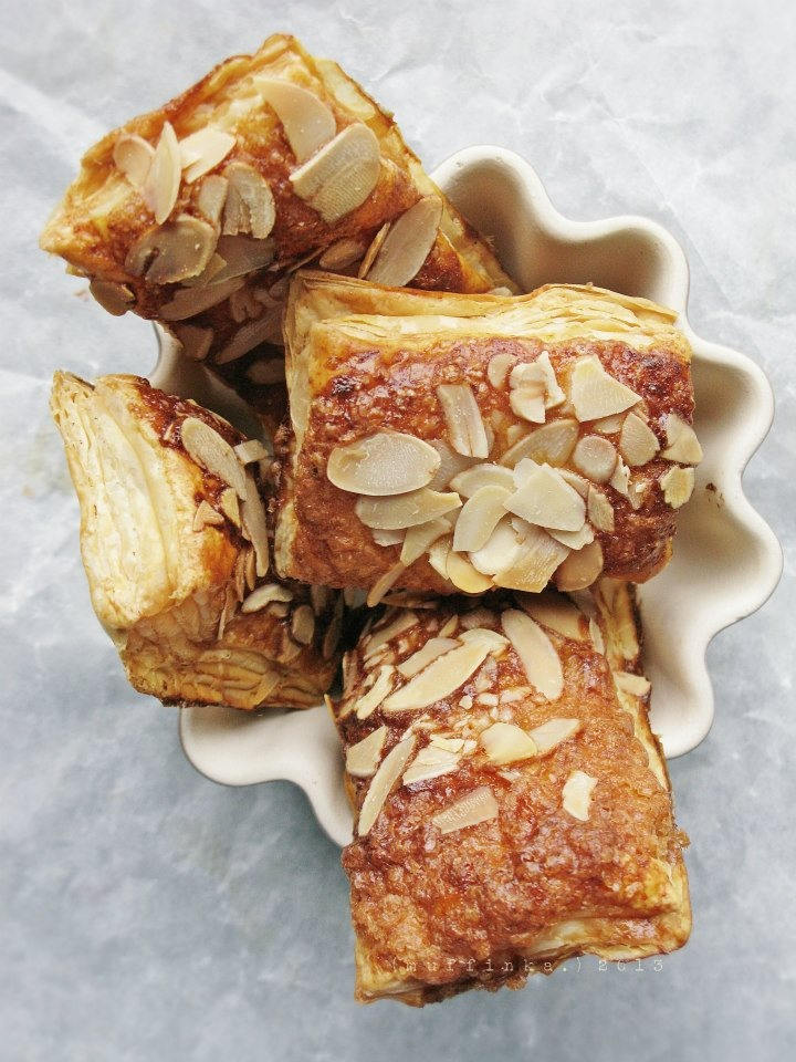 Vanilla Almond Orange Cloud Cookies Recipe — Dishmaps