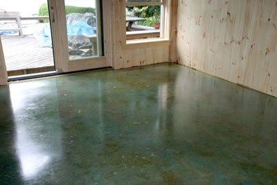 concrete floor acid etch for the home pinterest