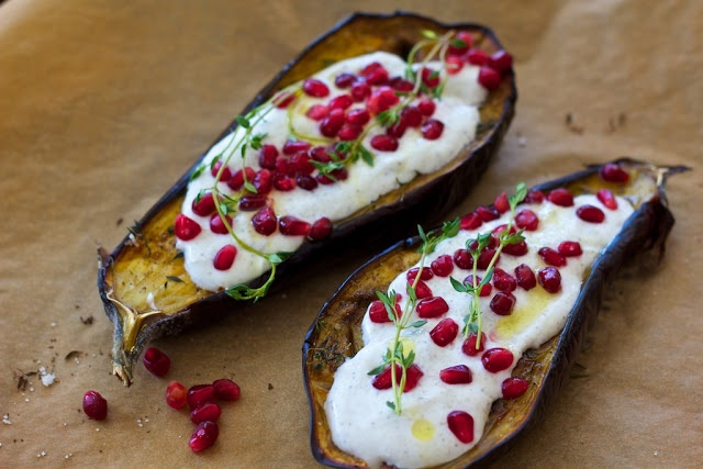 freshfromevaskitchen: Eggplant with Buttermilk Sauce