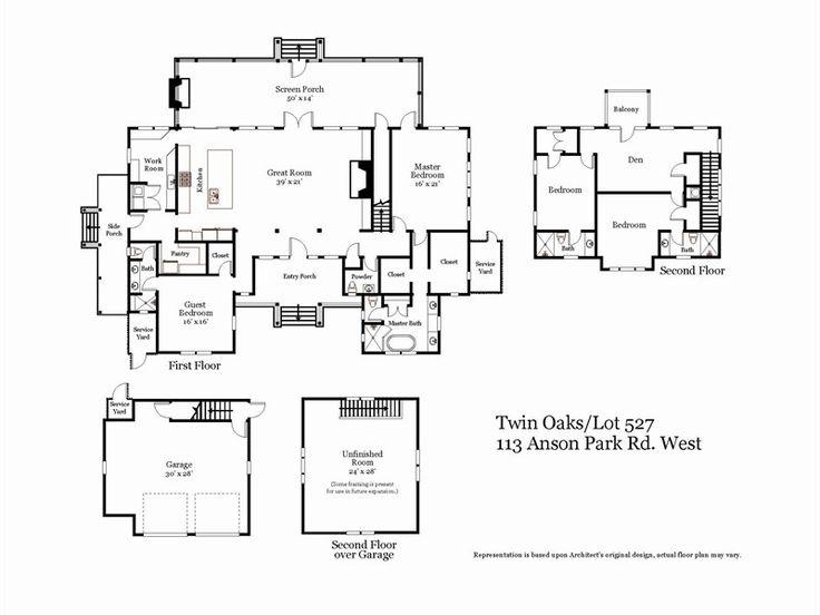 Palmetto Bluff Floor Plan Dream Home Pinterest