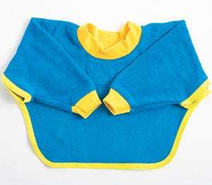 Baby bib with sleeves (pattern) | Greysen Dane | Pinterest