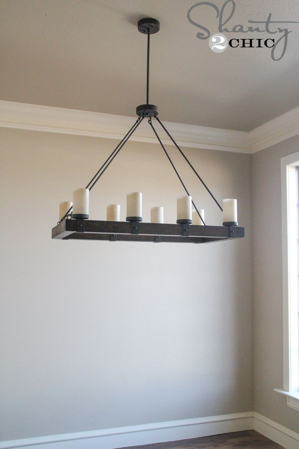 candle chandelier kitchen and nook ideas pinterest