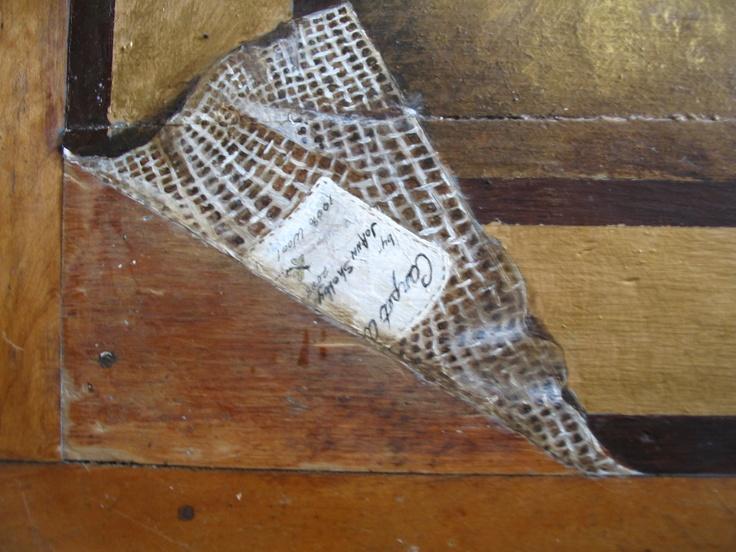 Rugs on wood floors