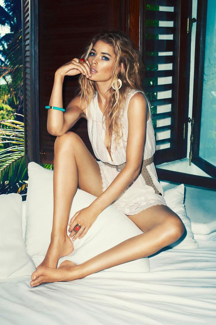 Doutzen kroes for h&m summer campaign by terry richardson