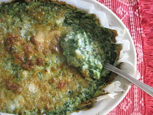 ... rice mushroom spinach and brown rice casserole rice and spinach gratin